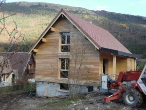 agrandissement-maison-ossature-bois-grenoble-bardage