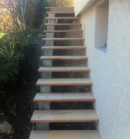Escalier mélèze
